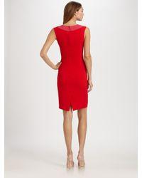 Dior | Red Silk Dress | Lyst