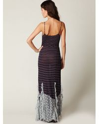 Free People - Brown The Hills Are Alive Slip - Lyst