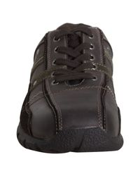 Kenneth Cole Reaction | Brown Leather Custom Built Sneakers for Men | Lyst