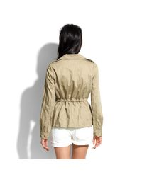 Madewell - Natural City Cargo Jacket - Lyst