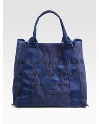 Marc By Marc Jacobs | Blue M Standard Supply Canvas Tote Bag | Lyst
