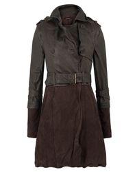 Muubaa | Brown Chocolate Wilde Trench Coat | Lyst