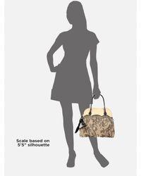 Valentino   Black Straw & Lace Handbag   Lyst