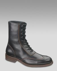 Wolverine - Black Winchester Brogue Boot for Men - Lyst