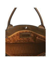 Furla - Brown Leather Greta Large Shopper Tote - Lyst