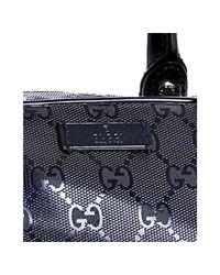 Gucci - Dark Blue Gg Imprime Medium Briefcase for Men - Lyst