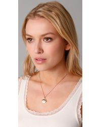 Juicy Couture - Metallic Spinner Necklace - Lyst
