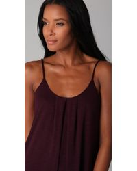 Lanston | Black High / Low Maxi Dress | Lyst