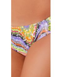 L*Space   Multicolor Tesserae Foxy Tab Bikini Bottoms   Lyst