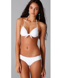 L*Space - White Girls Best Friend Bikini Top - Lyst