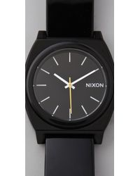 Nixon | Black Time Teller P Watch | Lyst