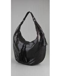 Rebecca Minkoff - Black Mesh Hobo Bag - Lyst