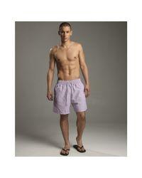 Vilebrequin - Purple Lavender Moorea Swim Trunks for Men - Lyst