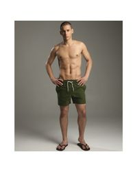 Vilebrequin | Olive Green Moorea Swim Trunks for Men | Lyst