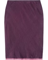 Textile Elizabeth and James | Purple Lana Washed-silk Skirt | Lyst