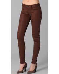 Vince - Brown Lola Stovepipe Jeans - Lyst