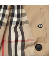 Burberry - Natural London Long Cotton-gabardine Trench Coat for Men - Lyst