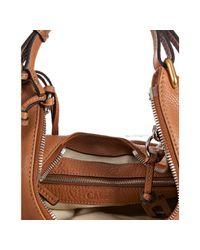 Chloé - Brown Tan Leather Paddington Lock Hobo - Lyst