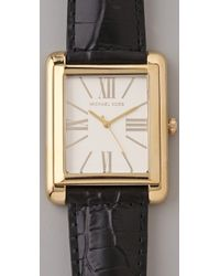 Michael Kors - Black Bradley Watch - Lyst