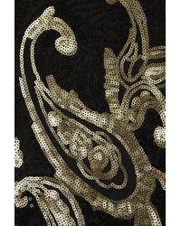 TOPSHOP - Multicolor Baroque Bodycon Sequin Dress - Lyst