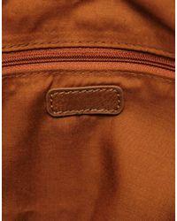 ALDO | Brown Aldo Yasui Colour Block Bag | Lyst