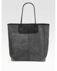 Alexander Wang | Black Prisma Canvas Tote | Lyst