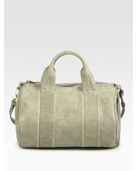 Alexander Wang | Gray Rocco Duffle Bag | Lyst