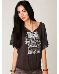 Free People | Black We The Free City Limits Tee | Lyst