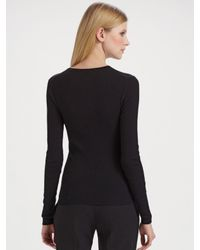 Michael Kors - Black Cashmere Sweater - Lyst