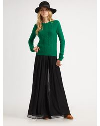Rag & Bone | Black Maxi Culotte Pants | Lyst
