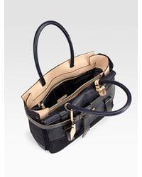 Reed Krakoff - Blue Boxer 1 Denim & Leather Bag - Lyst