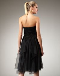 Robert Rodriguez | Black Paula Embellished Strapless Dress | Lyst