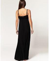 Seafolly - Black Gladiator Maxi Dress - Lyst