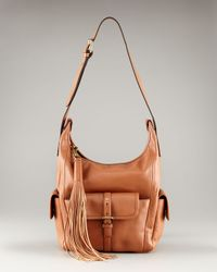Chloé | Brown Gabby Bucket Pockets Shoulder Bag | Lyst