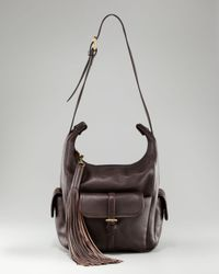 Chloé - Brown Gabby Bucket Pockets Shoulder Bag - Lyst