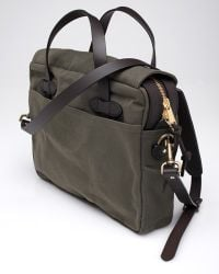 Filson | Original Briefcase in Green for Men | Lyst