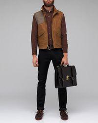 Filson | Brown Eastlake Waxed Vest for Men | Lyst