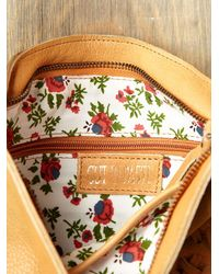 Free People | Natural Delilah Suede Crossbody | Lyst