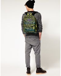 Jansport - Multicolor Backpack With Neon Bird Print for Men - Lyst