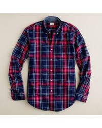 J.Crew | Multicolor Secret Wash Button-down Shirt in Emmet Tartan for Men | Lyst