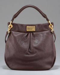 Marc By Marc Jacobs | Brown Classic Q Hillier Hobo, Espresso | Lyst