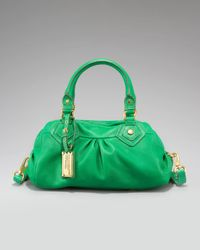 Marc By Marc Jacobs | Green Baby Groovee Satchel | Lyst