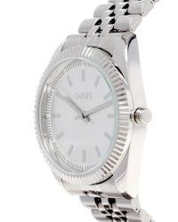 Oasis | Metallic Metal Bracelet Watch | Lyst