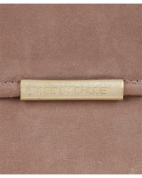 See By Chloé - Dusty Pink Suede Cherry Wallet - Lyst