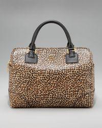 Tory Burch | Multicolor Leopard-print Robinson Satchel | Lyst
