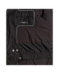 Ermenegildo Zegna - Black Water Resistant Thermo Blazer Filled Jacket for Men - Lyst