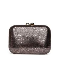 KOTUR | Preorder Metallic Stingray Box Clutch | Lyst