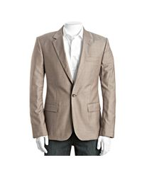 Marc By Marc Jacobs | Dusty Brown Wool Single Button Blazer for Men | Lyst