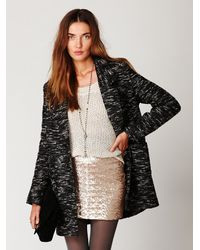 Free People - Metallic Fever Sequin Bodycon Skirt - Lyst