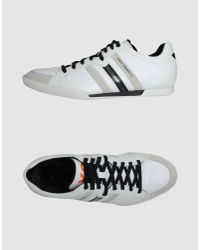 Y-3 | Sala Classic Sneaker in White/black for Men | Lyst